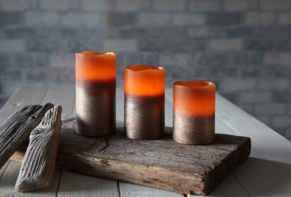 Candles and tea lights