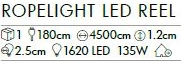 LED-Ropelight, 45 m, coolw ab 145,1 EUR